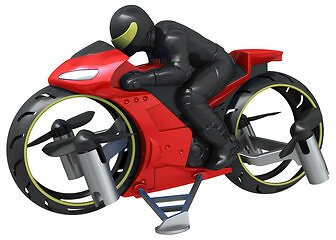 2.4G Remote Flying Motorcycle Mini Done With Led Light Air/Landing Mode Dual Mode Headless Mode RC QuadcopterRC DronesfromToys Hobbies and Roboton Banggood.com