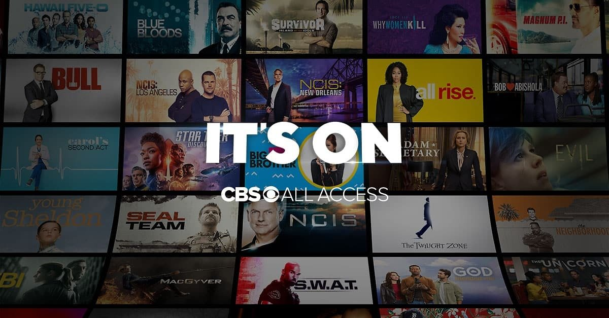 1-Month CBS All Access for Free