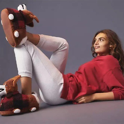 $17.97 AEO Holiday Slippers (4 Styles)
