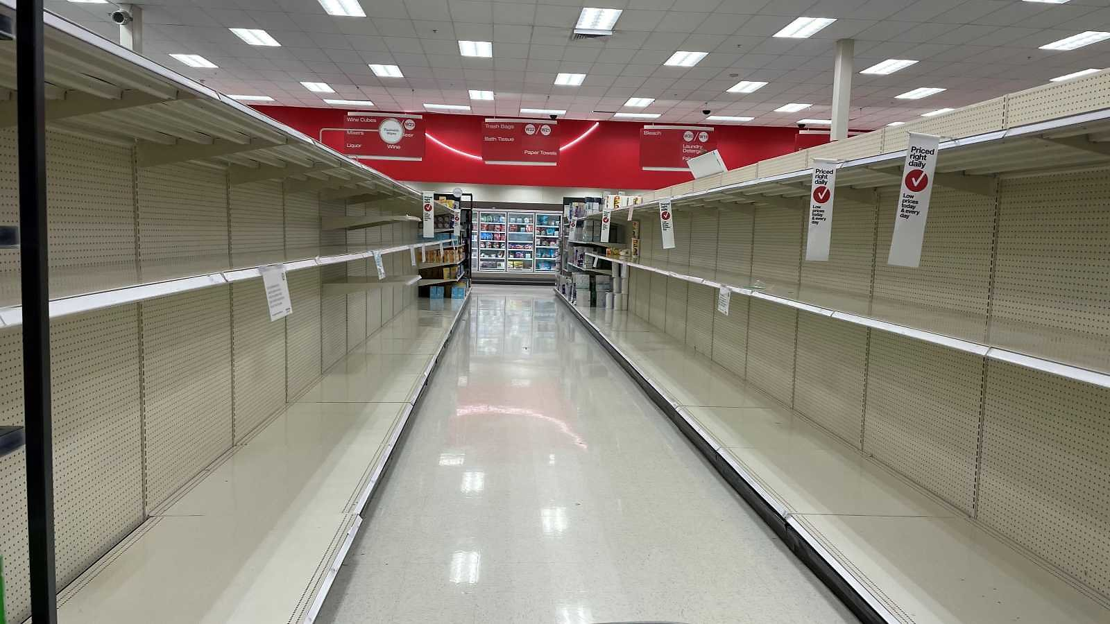Don't Count On Finding Toilet Paper On Your Next Run to Target or Walmart. COVID-19 Panic Buying Is On a Roll Again