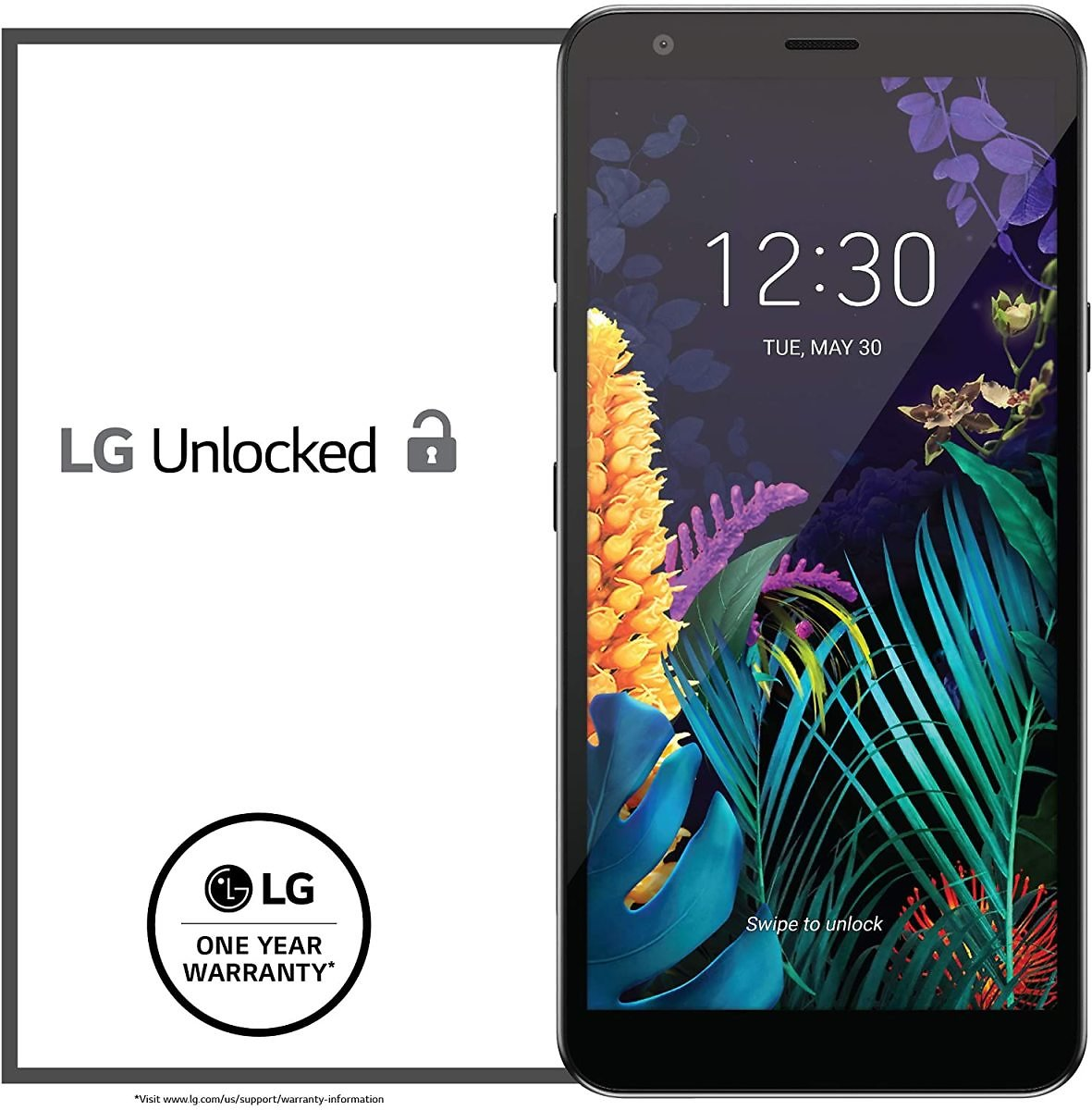 LG K30 Factory Unlocked Phone - 5.4