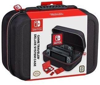 RDS Nintendo Switch Game Traveler Deluxe System Case (Black)
