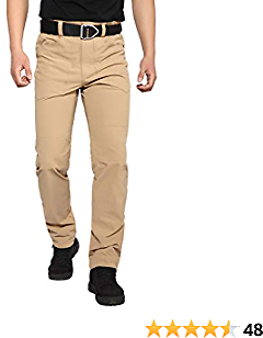 Men's Hiking Pants Outdoor Lightweight Quick Dry for Travel Camping Fishing