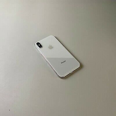 Apple IPhone X A1901 64GB - Silver, Single SIM *Very Good Condition*