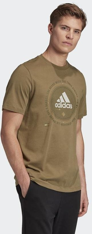 Adidas Athletics Graphic T-Shirt - Brown | Adidas US