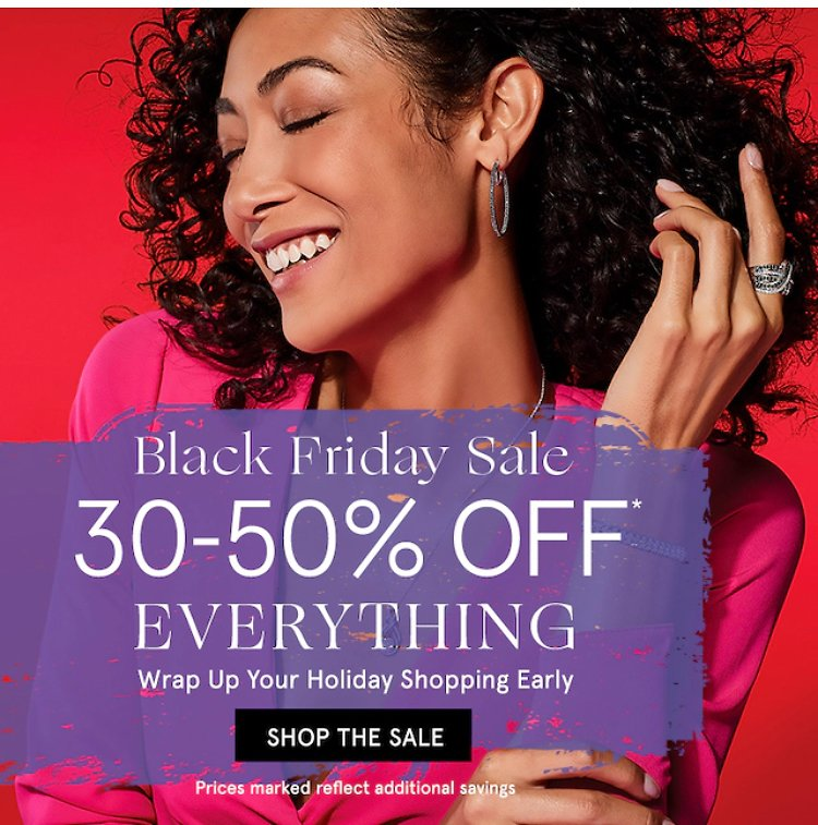 30% - 50% OFF On Everything | Zales Jewelry