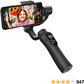 CINEPEER Phone Gimbal, 3-Axis Gimbal Stabilizer for IPhone 12/11/X/XS, Samsung Android Phone, ZY Play App Support, Smooth Video Gimbal - CINEPEER C11