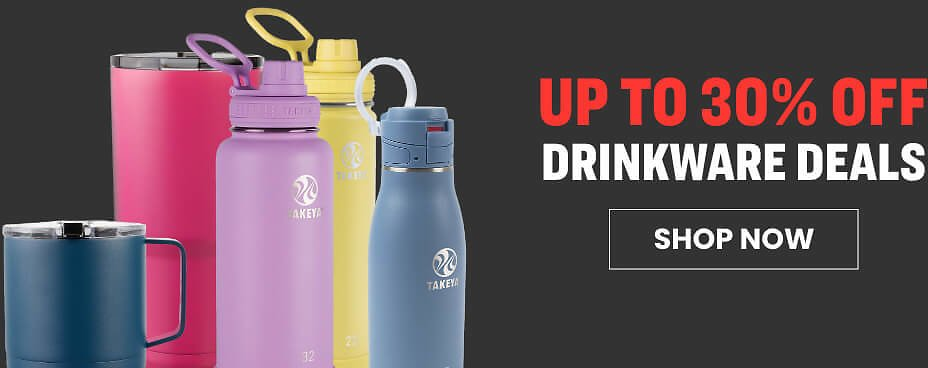 Up to 30% Off Drinkware Deals