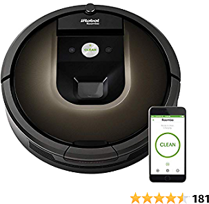 Roomba 980 IRobot Wi-Fi Connected Vacuuming Robot