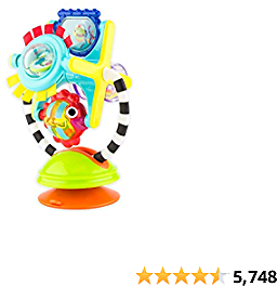 Sassy Fishy Fascination Station 2-in-1 Suction Cup High Chair Toy