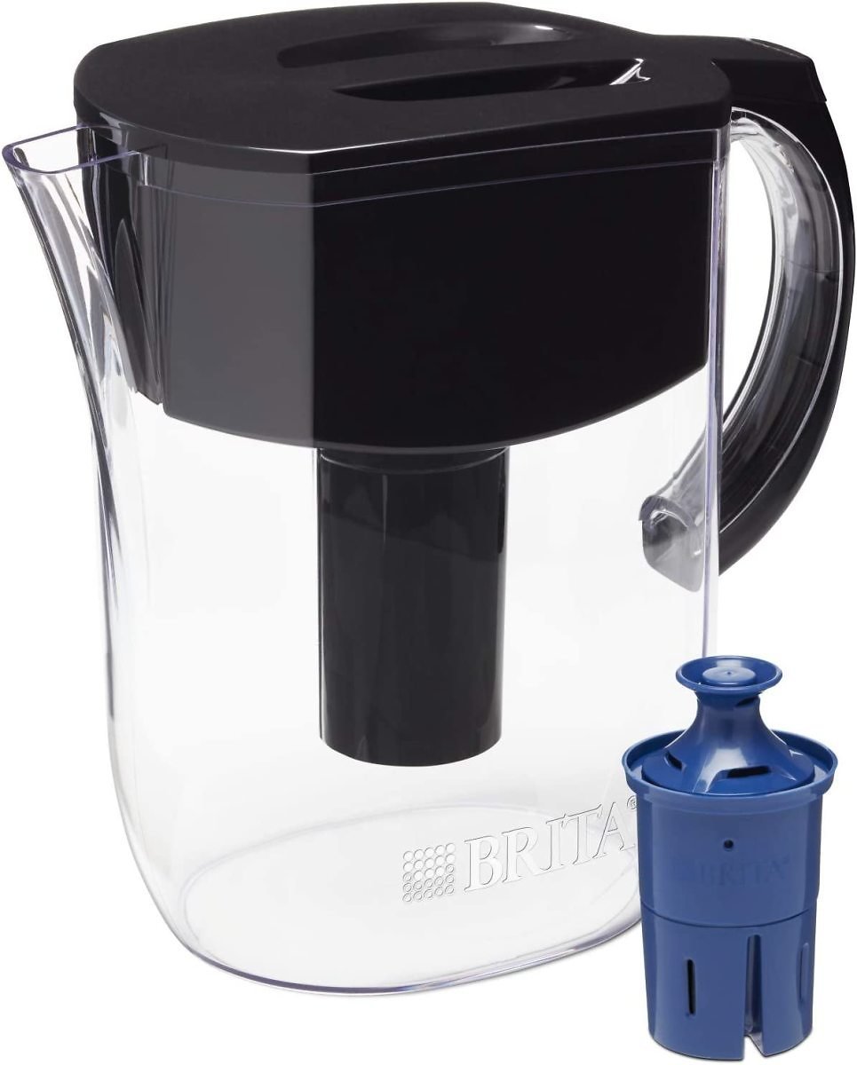 Brita Longlast Everyday Water Filter Pitcher, Large 10 Cup 1 Count (Available in Different Colors)