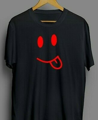 SMILEY FACE JDM Printed T-shirt - Funny, Novelty, Birthday and Gift Idea