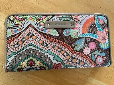 Oilily Paisley Clutch Wallet