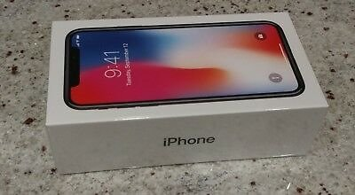 NEW Apple IPhone X 10 Space Gray 256GB Smartphone Phone Unlocked READY TO SHIP 190198459121