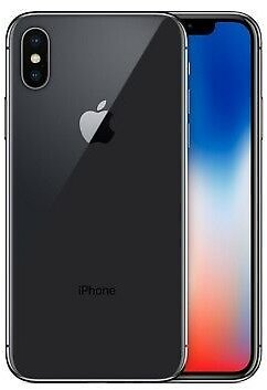 Apple IPhone X 64GB Unlocked AT&T TMobile Apple Bundle Charger + Power Cable