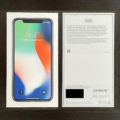 Apple IPhone X - 64GB - Silver - AT&T Unlocked - A1901 (GSM) 190198459107