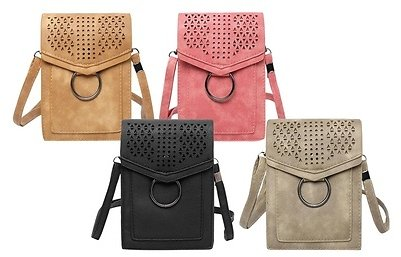 Trendy Molly Faux Leather Small Crossbody Bag