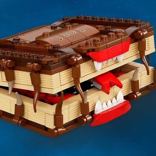 Free LEGO Harry Potter Book of Monsters Offer