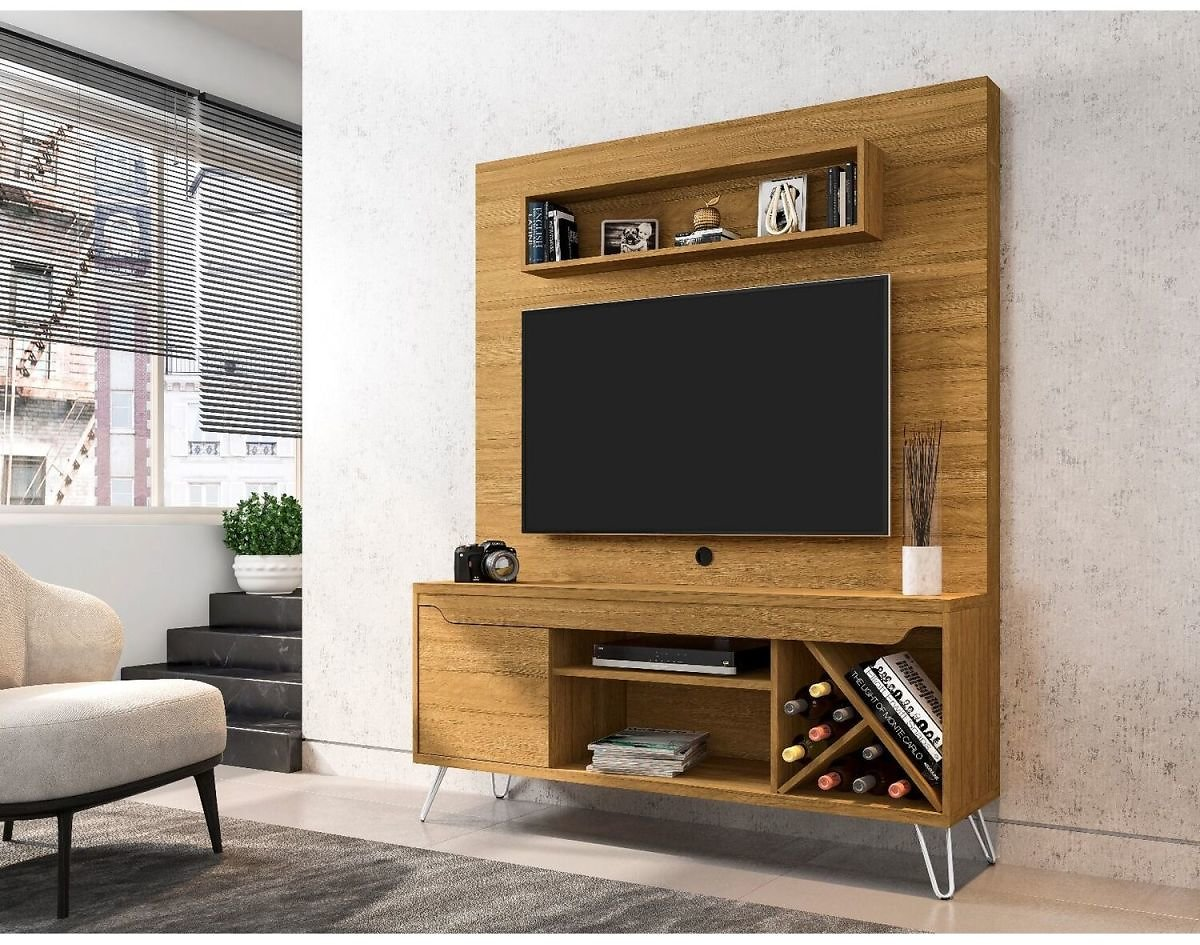 Manhattan Comfort Baxter 53.54 Freestanding Entertainment Center