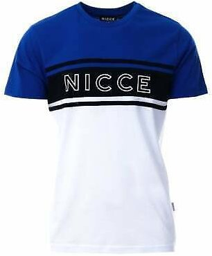 MENS NICCE KING T-SHIRT TOP CASUAL CREW NECK TEE SHORT SLEEVE GYM FASHION BRAND