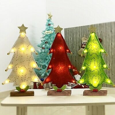 32cm Table LED Christmas Tree Nightlight Christmas Decoration New Year Gifts