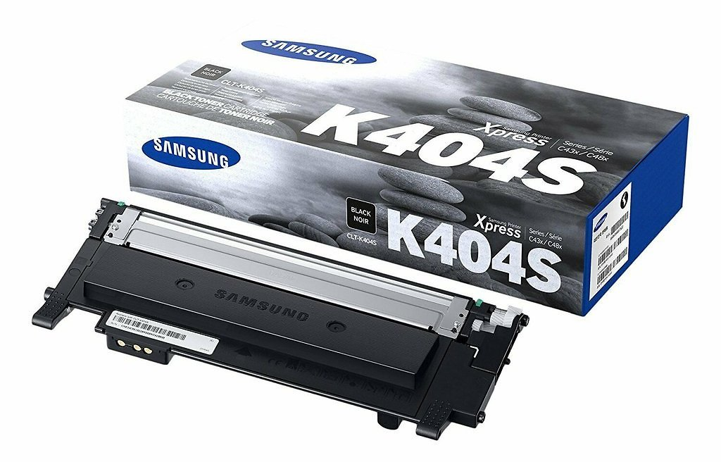 Samsung CLT-K404S Black Toner Cartridge Genuine for SL-C430W, C480FW