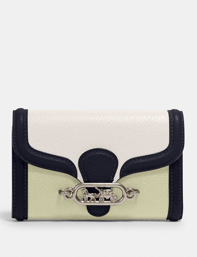 Jade Medium Envelope Wallet in Colorblock (2 Colors)