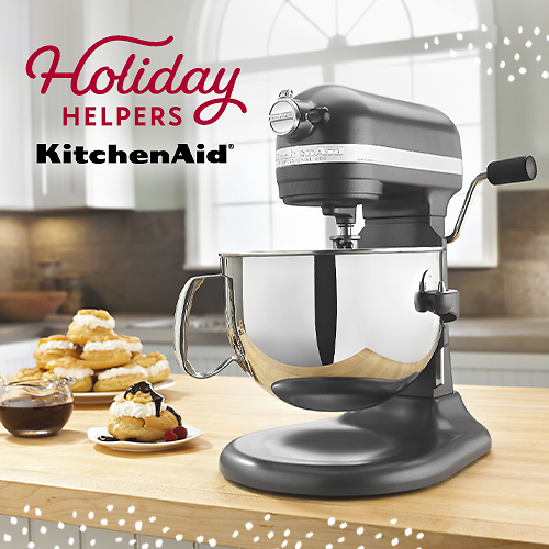 Up to 30% OFF Stand Mixers Are Back By KitchenAid