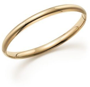 Bloomingdale's 14K Yellow Gold Hinged Bangle - 100% Exclusive Jewelry & Accessories - Bloomingdale's