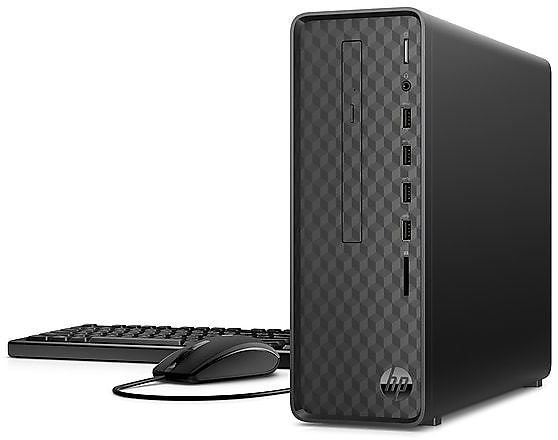 HP Slim S01-pF1016 Desktop Computer, Intel I3, 8GB RAM, 256GB SSD
