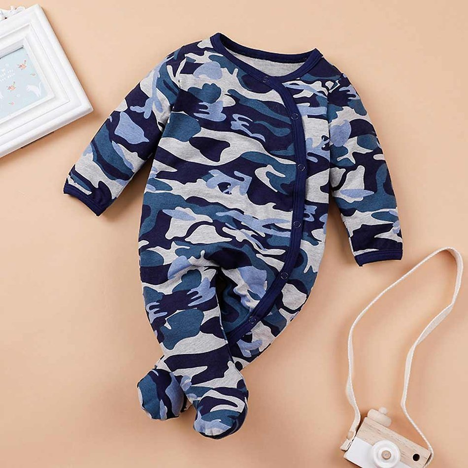 Baby Camouflage Jumpsuit