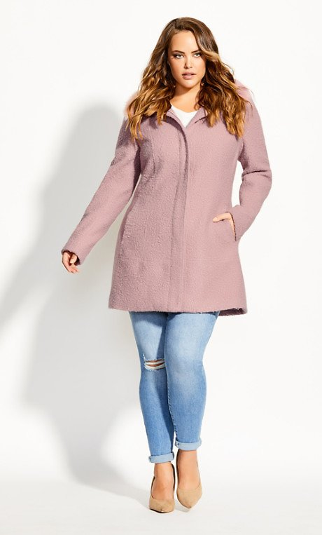 Sweet Dreams Coat - Blush