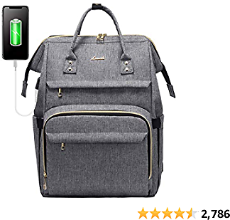 Laptop Backpack for Women Fashion Travel Bags Business Computer Purse Work Bag with USB Port