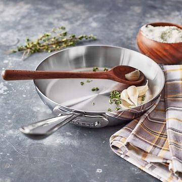 All-Clad D3 Stainless Steel French Skillet, 7.5