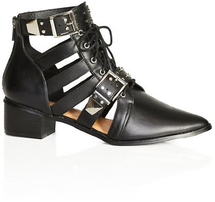 Riley Ankle Boot - Black