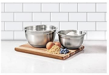 Crofton Stainless Steel Mixing Bowls