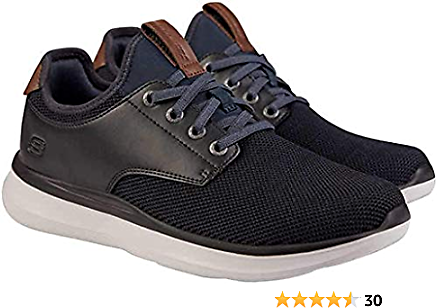 Skechers Men's Slip On Shoe Navy/Black