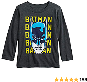 Jumping Beans Toddler Boys 2T-5T Batman Mask Graphic Tee