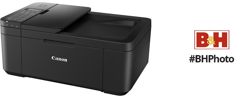 Canon Pixma TR4520 Wireless Inkjet All-In-One Printer (Black)