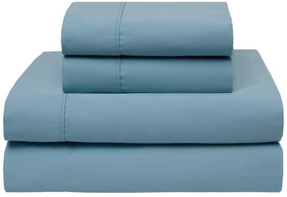 100% Cotton 420-Thread-Count Wrinkle-Free Sheet Set (Assorted Sizes and Colors) - Sam's Club
