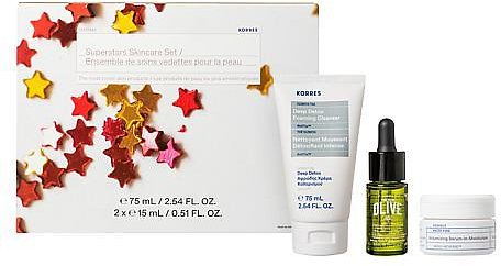 Exclusive! Korres Superstars 3-piece Skincare Set