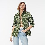 Garment-dyed Lightweight Jacket in Camo