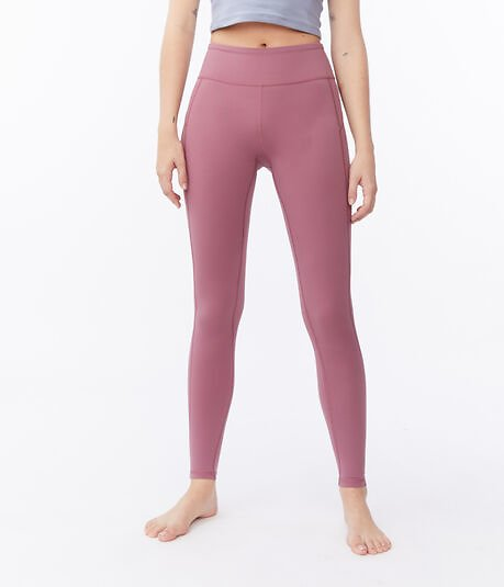 Cozy Dynamic High-Rise Leggings - Pink