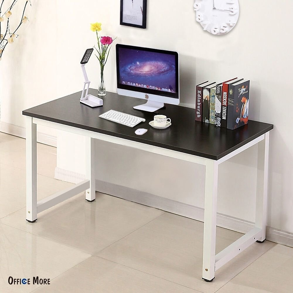 Zimtown Computer Desk PC Laptop Table Wood Workstation Study Table Home Office Furniture