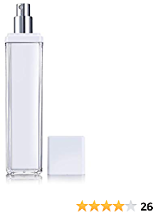 Spray Bottle SunniS Small Empty Portable for Beauty Household Cleaning Highest-Quality Acrylic Spraying Bottles Refillable Mist Leak Proof (3.4 Oz)