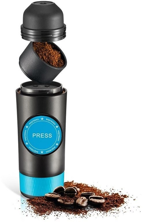 US $47.84 74% OFF|2 in 1 Capsule & Ground Mini Espresso Portable Coffee Maker Hot and Cold Extraction USB Electric Coffee Powder Making Machine|Coffee Makers| - AliExpress