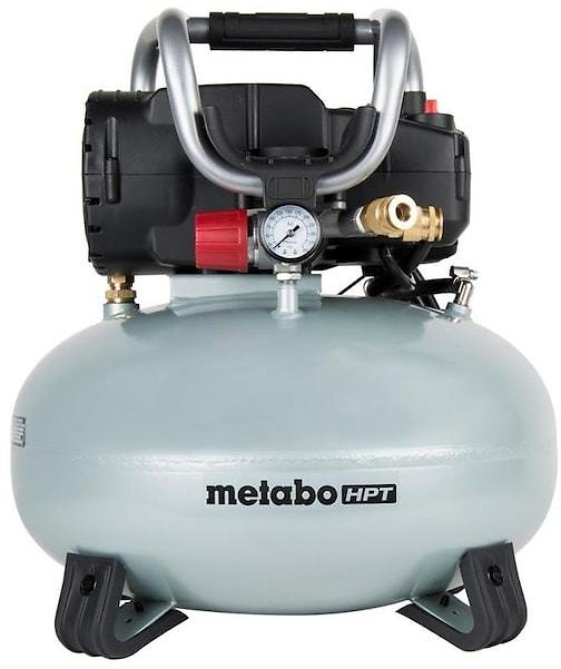Metabo HPT (was Hitachi Power Tools) 6-Gallon Single Stage Portable Corded Electric Pancake Air Compressor Lowes.com