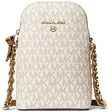 Michael Kors Signature Small North South Chain Phone Crossbody