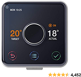 Hive Active Heating and Hot Water Thermostat Without Professional Installation-Works with Amazon Alexa