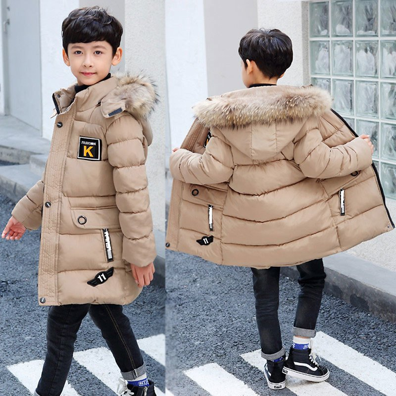 US $19.78 54% OFF|2020 New Winter Clothing Boys 4 Keep Warm 5 Children 9 Coat 8 Teens 10 to 15 Years Old Thicker Cotton Winter Jacket 30 Degrees|Down & Parkas| - AliExpress
